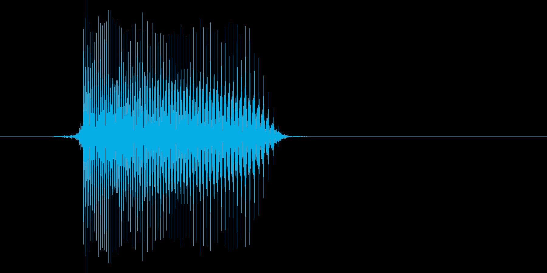 ゲーム(ファミコン風)レーザー音_030の再生済みの波形