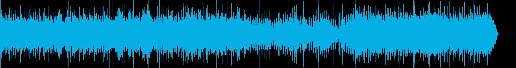 産業用のサウンドドラムとキーボード...の再生済みの波形