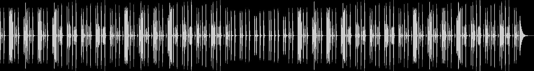YouTube・リコーダー・ほのぼの日常の未再生の波形