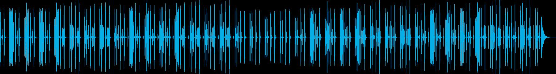 YouTube・リコーダー・ほのぼの日常の再生済みの波形