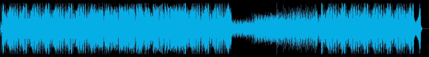 にぎやかで明るいスタンダードなラテンの再生済みの波形