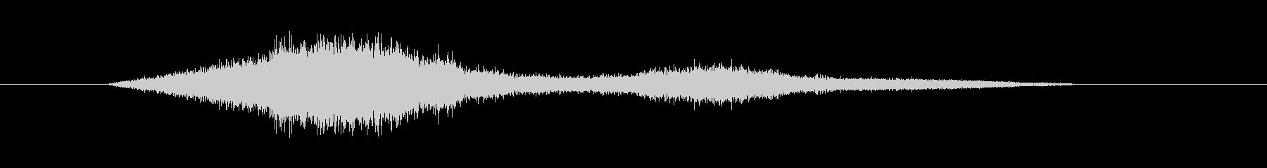 機械からの圧縮された蒸気(プシュー)の未再生の波形