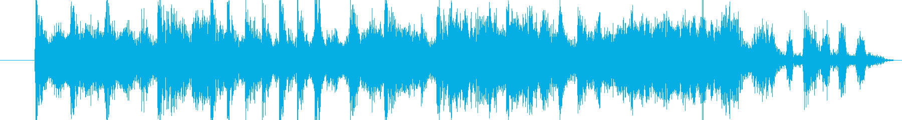 ジングル用BGM(緊急&ピンチ!)の再生済みの波形