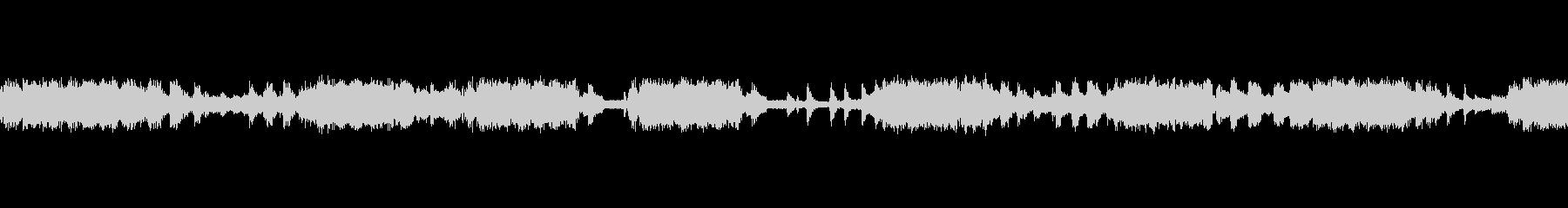 コオロギの泣声の未再生の波形