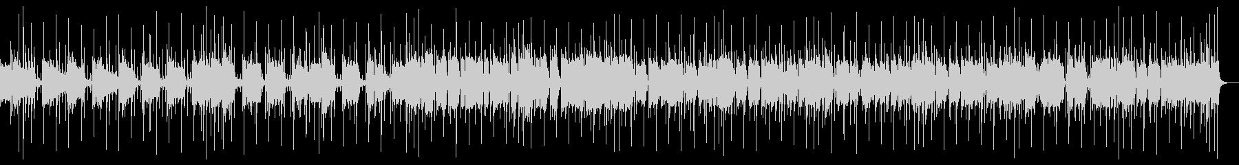 ドラムメイン同じパターンのシンプルな曲の未再生の波形