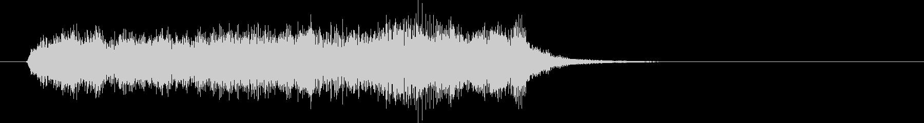 生演奏リコーダーで回復の音楽の未再生の波形