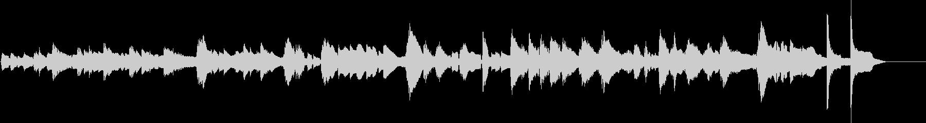 ギターチューニング;弦と弦のピッチ...の未再生の波形