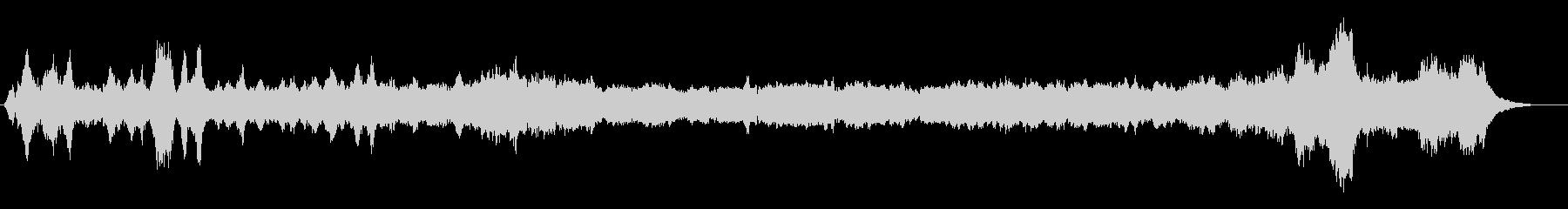 ホリデークラシックは、この暗い配置...の未再生の波形
