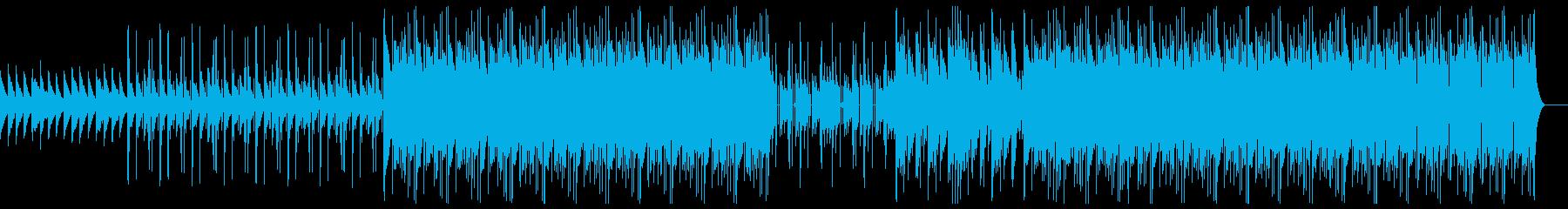 幻想的で切ないトラップビートの再生済みの波形