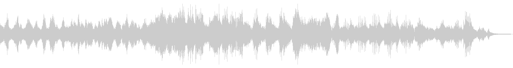 花吹雪/ドラマチックな和風ピアノ23の未再生の波形