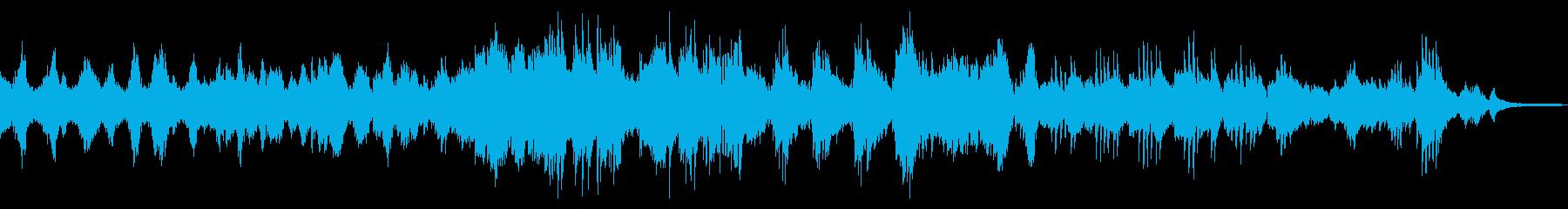 花吹雪/ドラマチックな和風ピアノ23の再生済みの波形