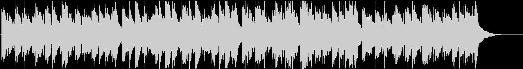 メロディアスなクラシックギターBGMの未再生の波形