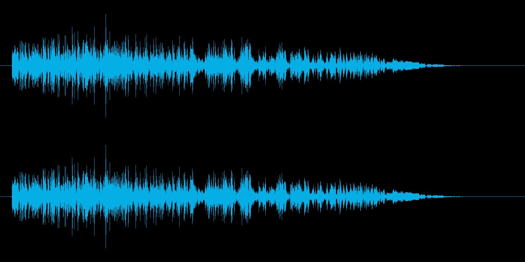 怪物の叫び声2(ウワー)の再生済みの波形