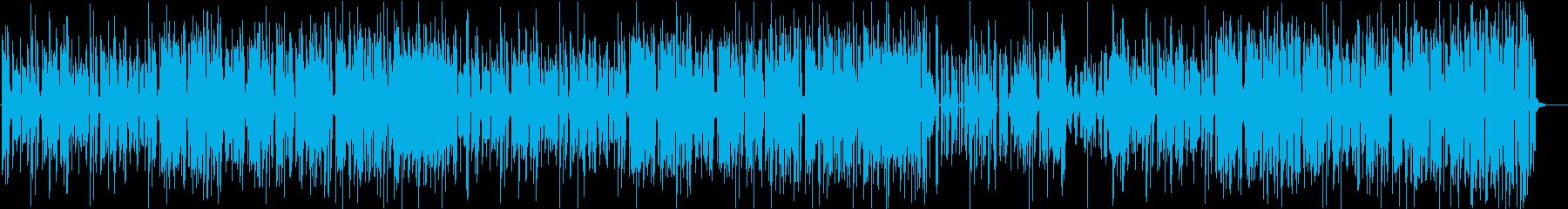 ノリの良いジャンプアップの再生済みの波形
