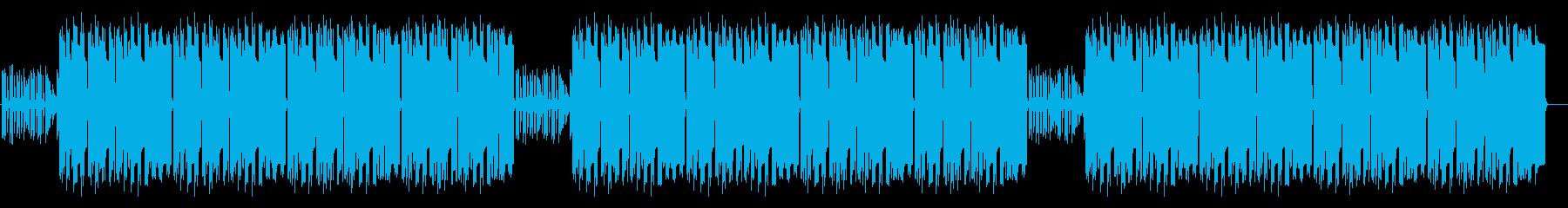 ゆるい雰囲気の日常 ほんわかリコーダーの再生済みの波形