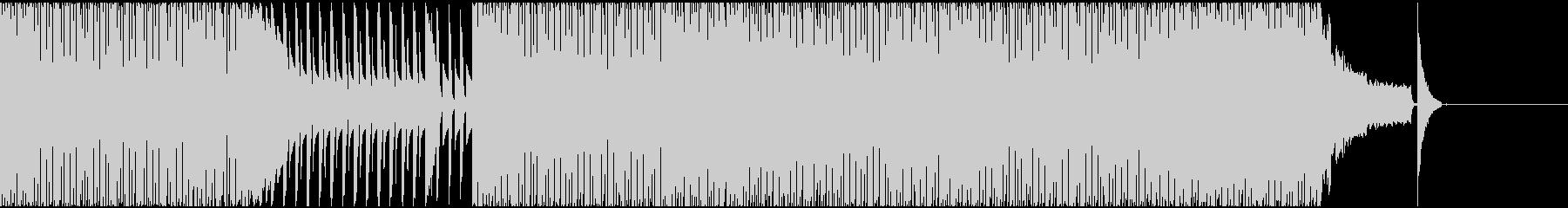 【EDM】クラブダンスミュージック2の未再生の波形