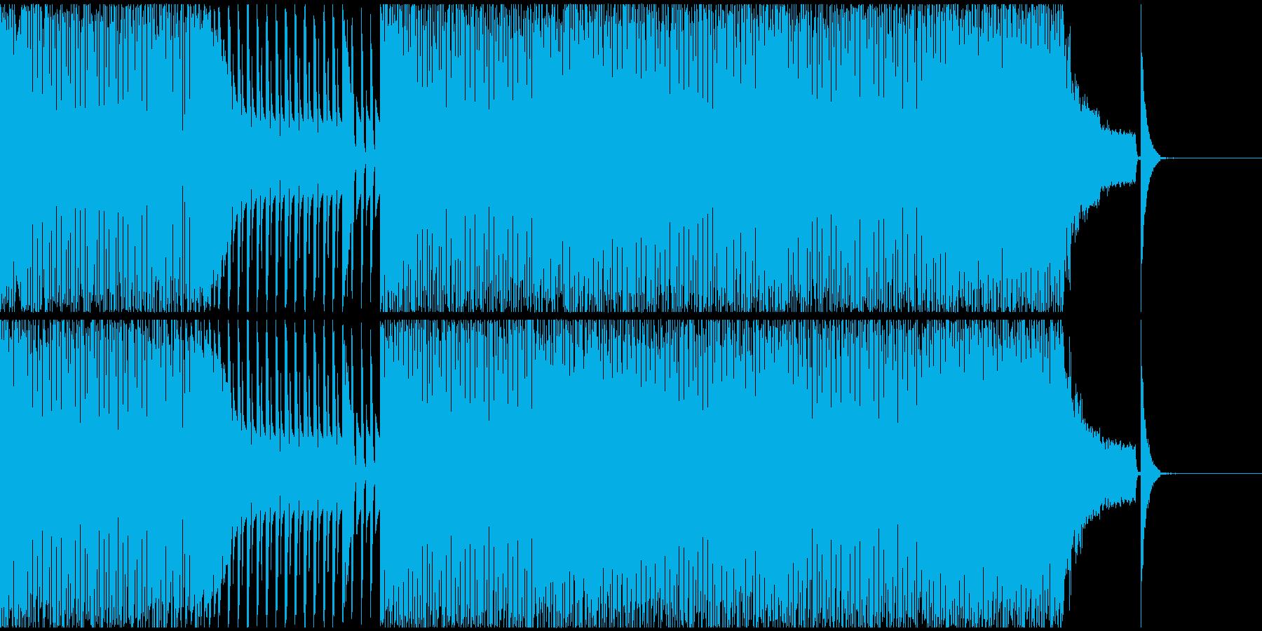 【EDM】クラブダンスミュージック2の再生済みの波形