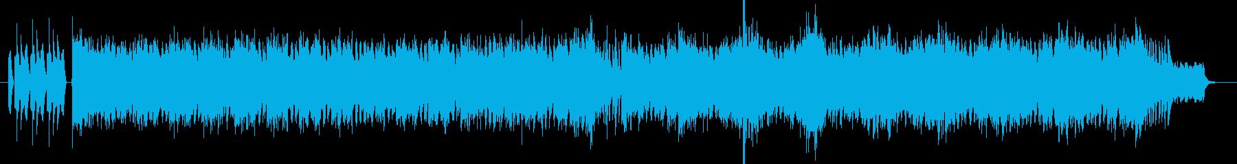 緊張感のあるシンフォニックサウンドの再生済みの波形