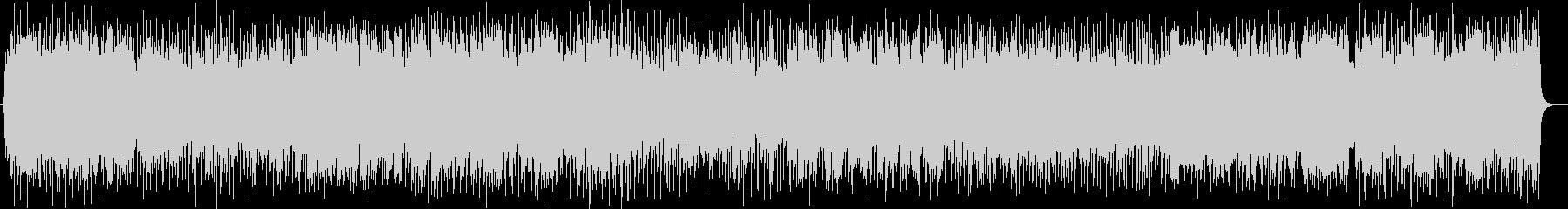 吹奏楽調の軽快なポップスの未再生の波形