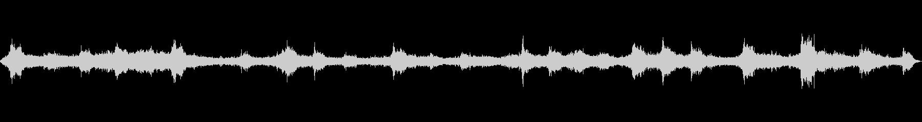 波の音~テトラポット~荒波【生録音】の未再生の波形