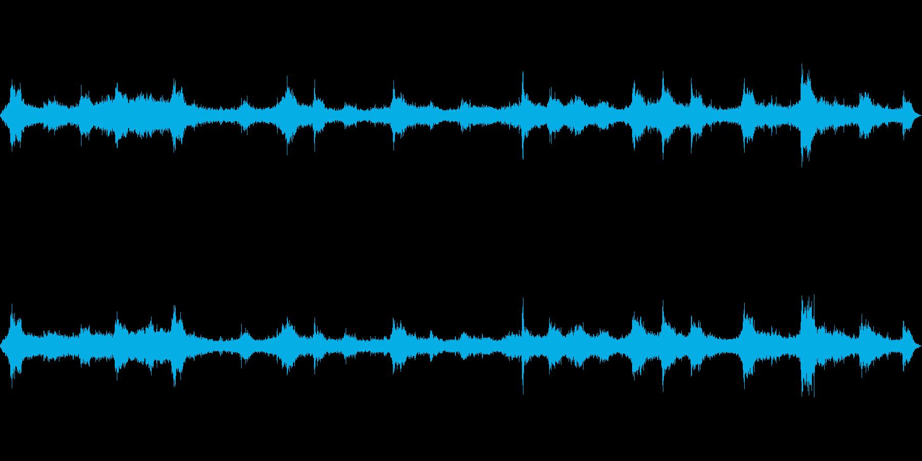 波の音~テトラポット~荒波【生録音】の再生済みの波形