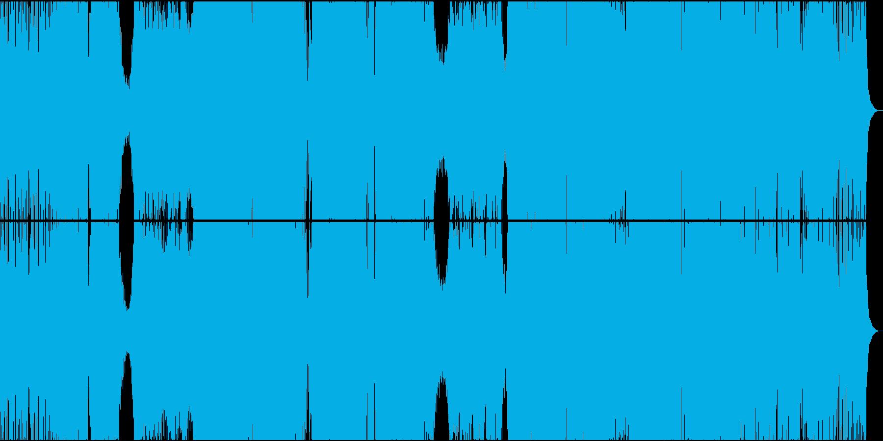 かっこいい海外風BIG ROOM EDMの再生済みの波形