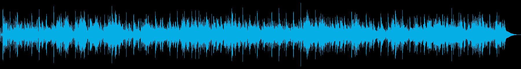 爽やかな別れのシーン等に使えそうなBGMの再生済みの波形