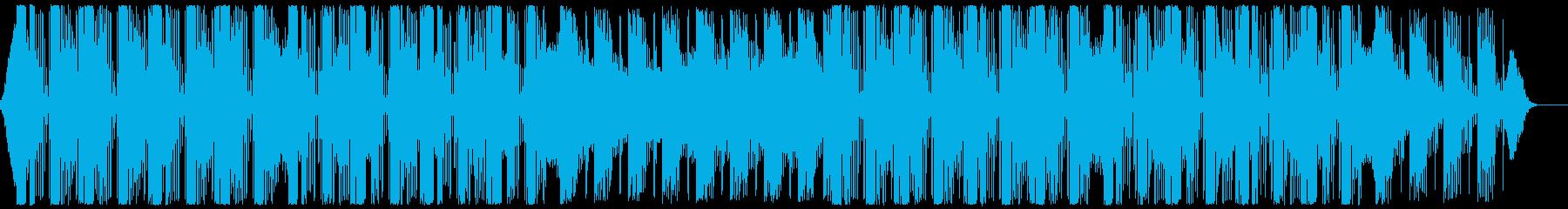 広がりのある落ち着いたクラブ系サウンドの再生済みの波形