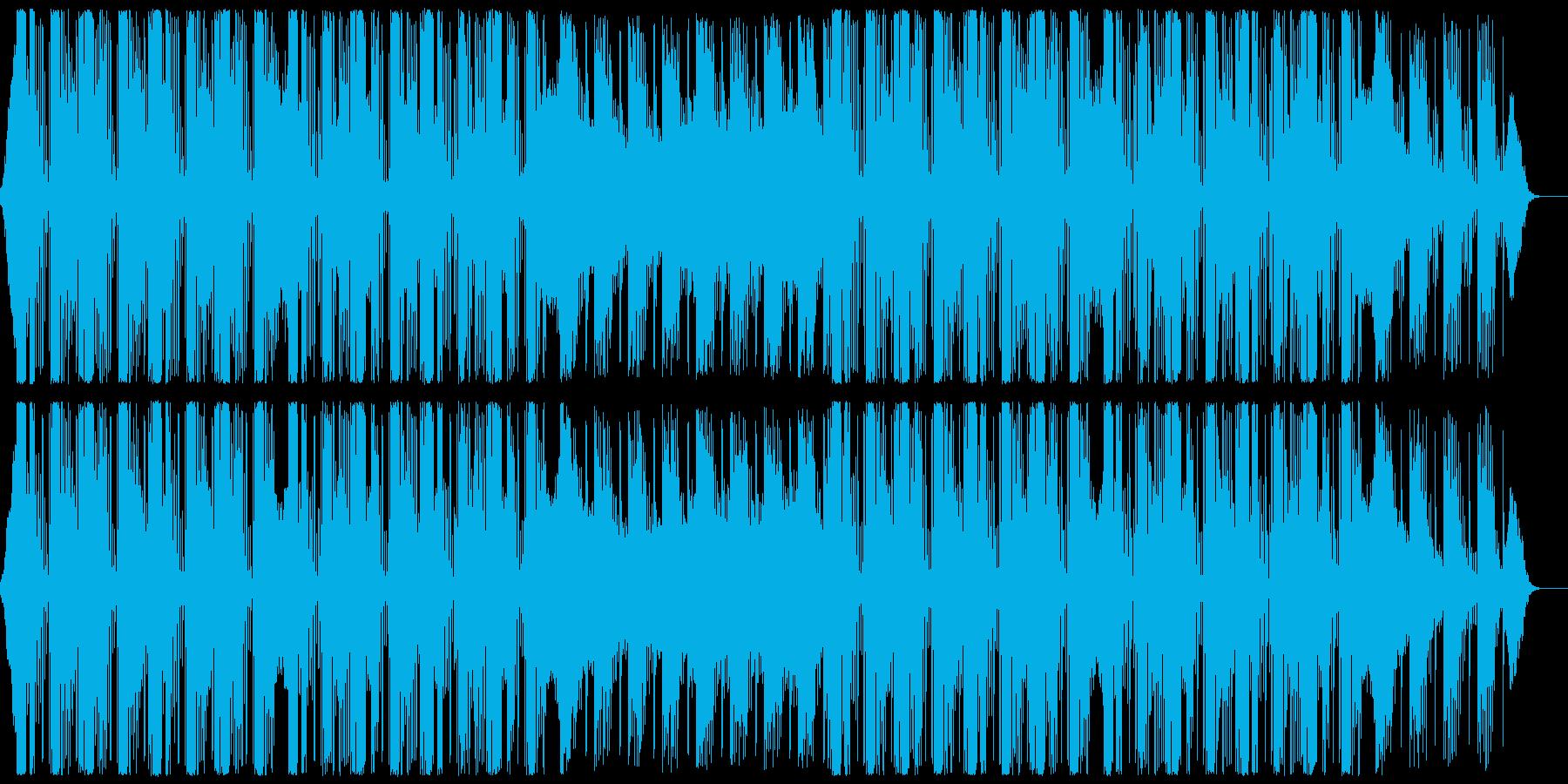 落ち着いたクラブサウンド CM・企業VPの再生済みの波形