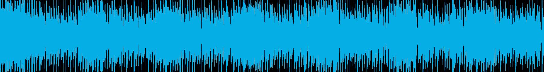 ワイドショーやニュースのBGMの再生済みの波形