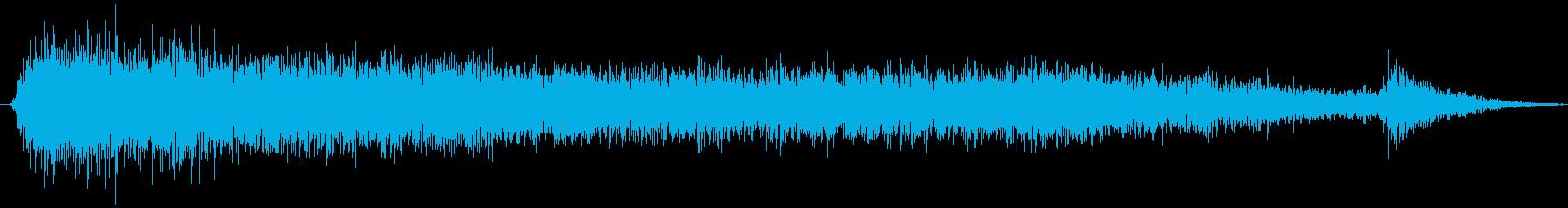 スモールエアバルブ:シングルブラス...の再生済みの波形