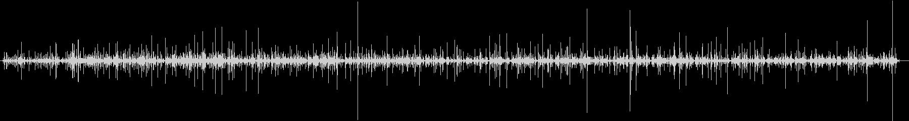 タイピング音(キーボード×5人)1分空間の未再生の波形
