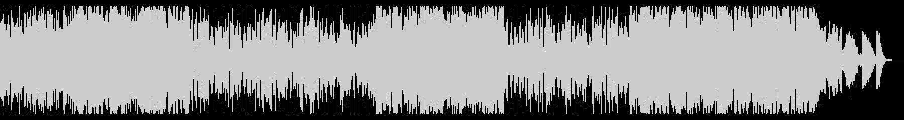 Wave,EDMの曲の未再生の波形