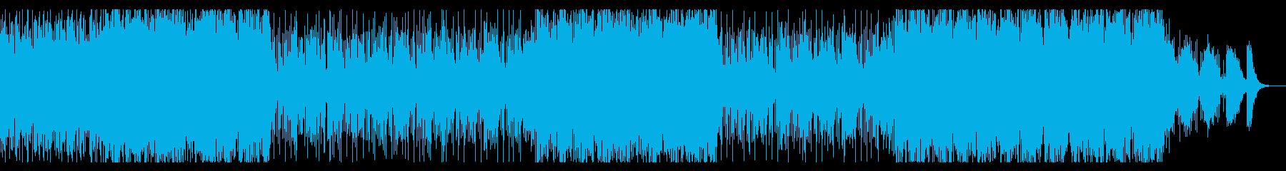 Wave,EDMの曲の再生済みの波形