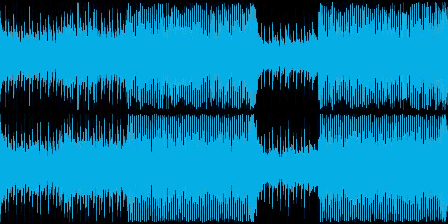 企業・イベント・CM用、爽やか、長ループの再生済みの波形
