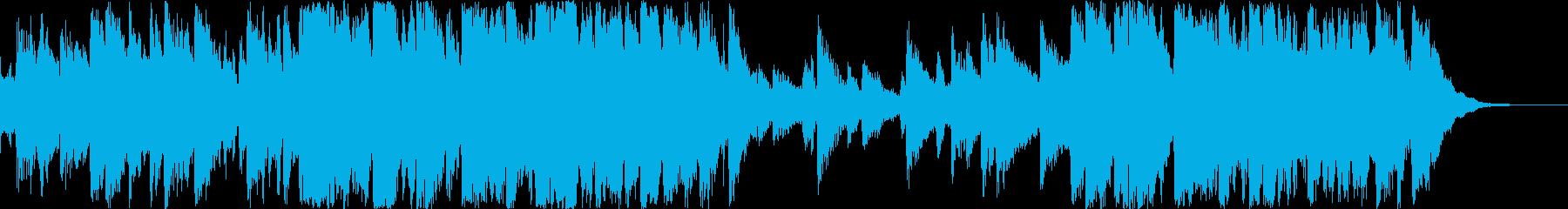 早春賦のJazzアレンジ3拍子の再生済みの波形