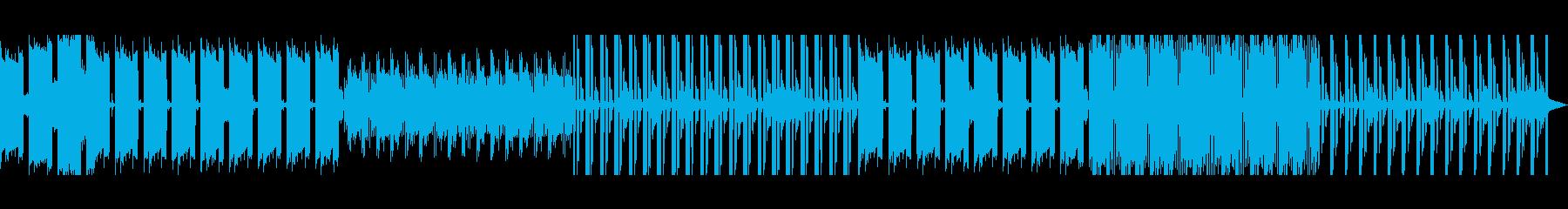 ポップなエレクトロの再生済みの波形