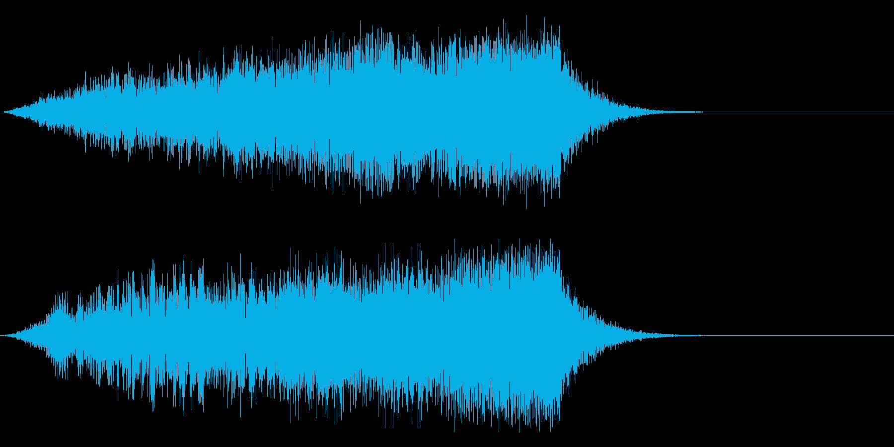スリル感が迫る時のSEに。の再生済みの波形