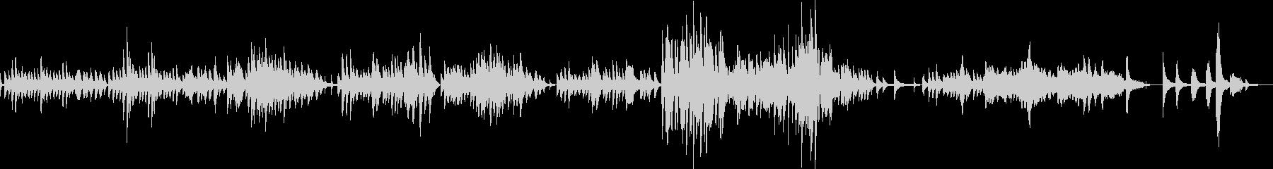 ショパン ノクターン Op55-No1の未再生の波形