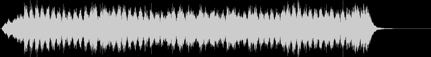 ベートーヴェン第九「歓喜の歌」コーラス有の未再生の波形