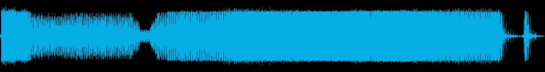 機械ノッキングの再生済みの波形