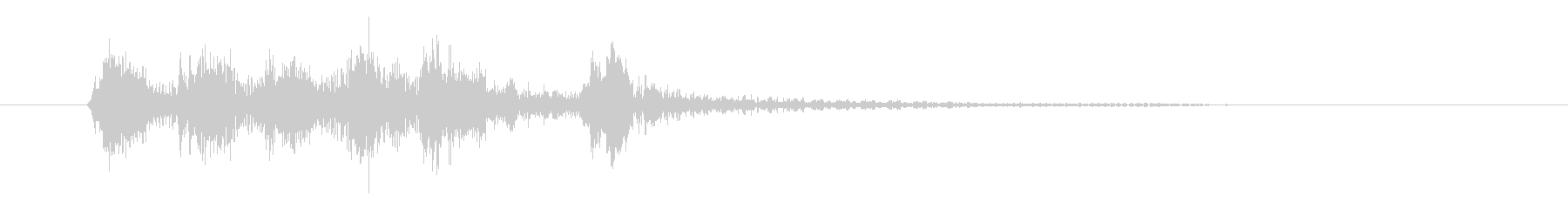 ピチカートのシンプルなジングル その3の未再生の波形