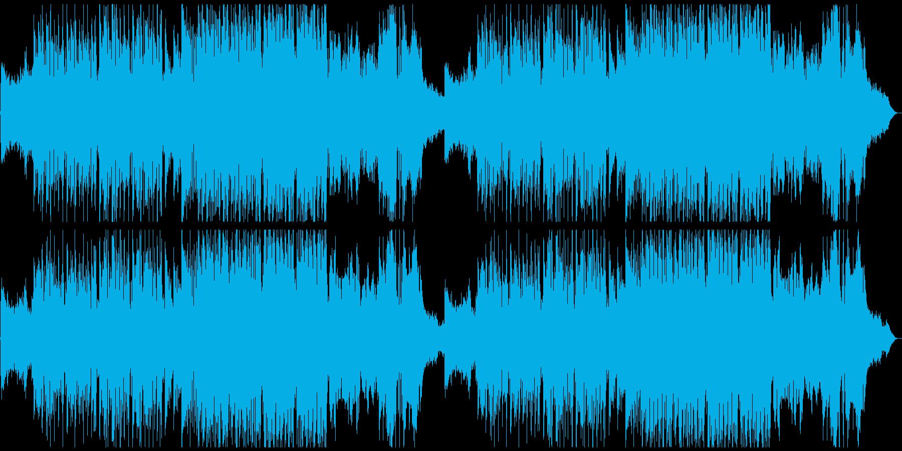 怪しいメルヘン曲・バイオリンの再生済みの波形