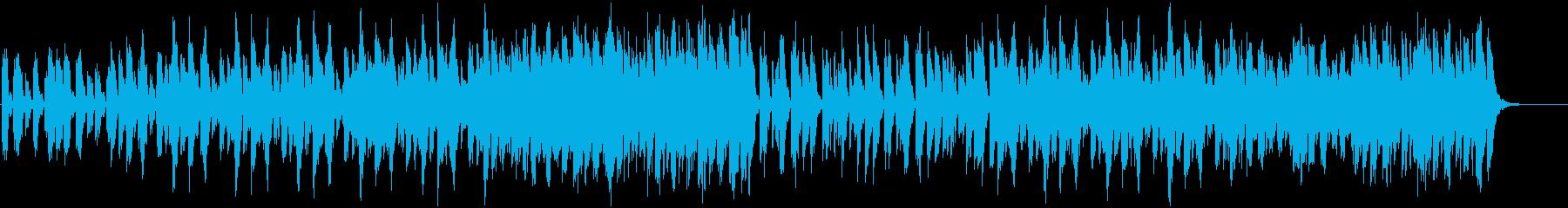 切なくて柔らかい鐘の音BGMの再生済みの波形