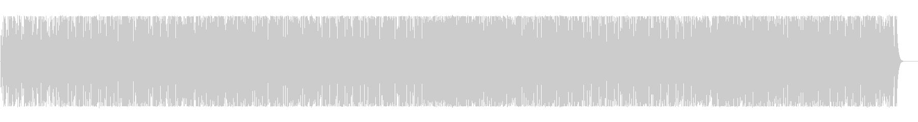 Rhythmical and comical BGM's unreproduced waveform