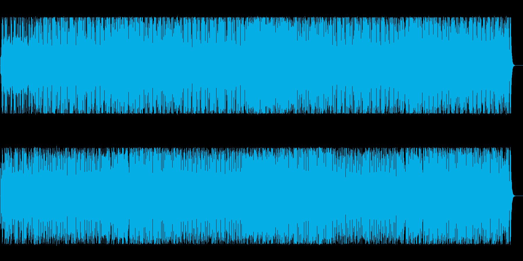 リズミカルでコミカルなBGMの再生済みの波形