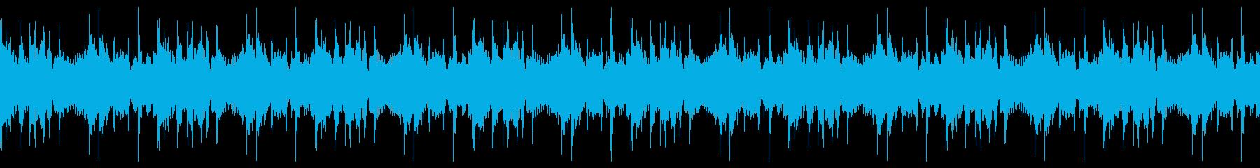 軌道ループ4の再生済みの波形