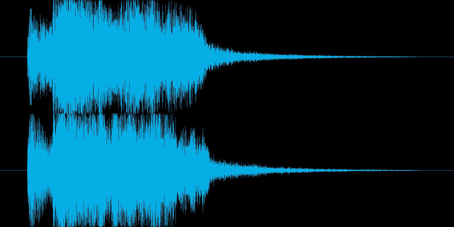 チャラララー(レベルUP、オーケストラ)の再生済みの波形