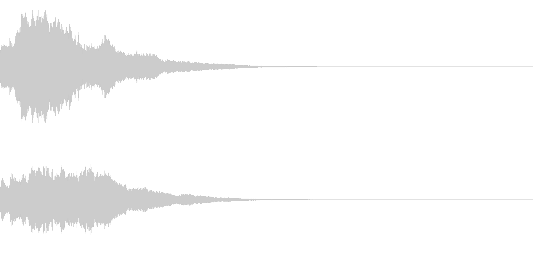 クリスマス ジングルベル キラキラ 10の未再生の波形