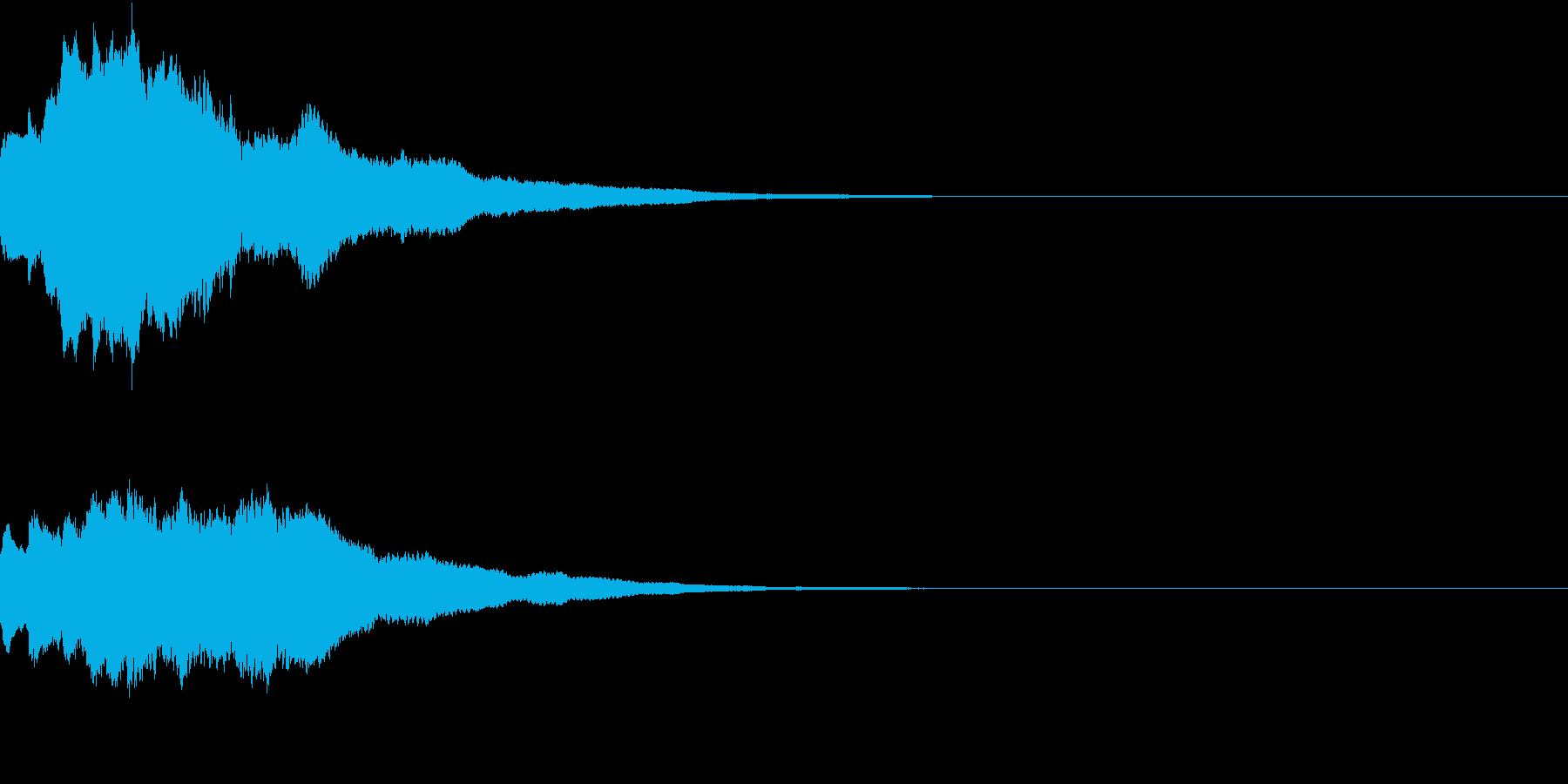 クリスマス ジングルベル キラキラ 10の再生済みの波形